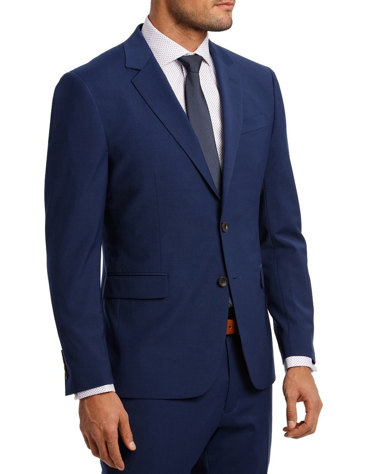 Square Weave Stretch Suit Jacket image 2