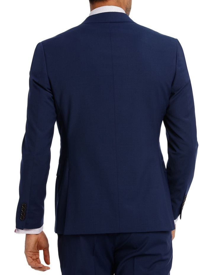 Square Weave Stretch Suit Jacket image 3