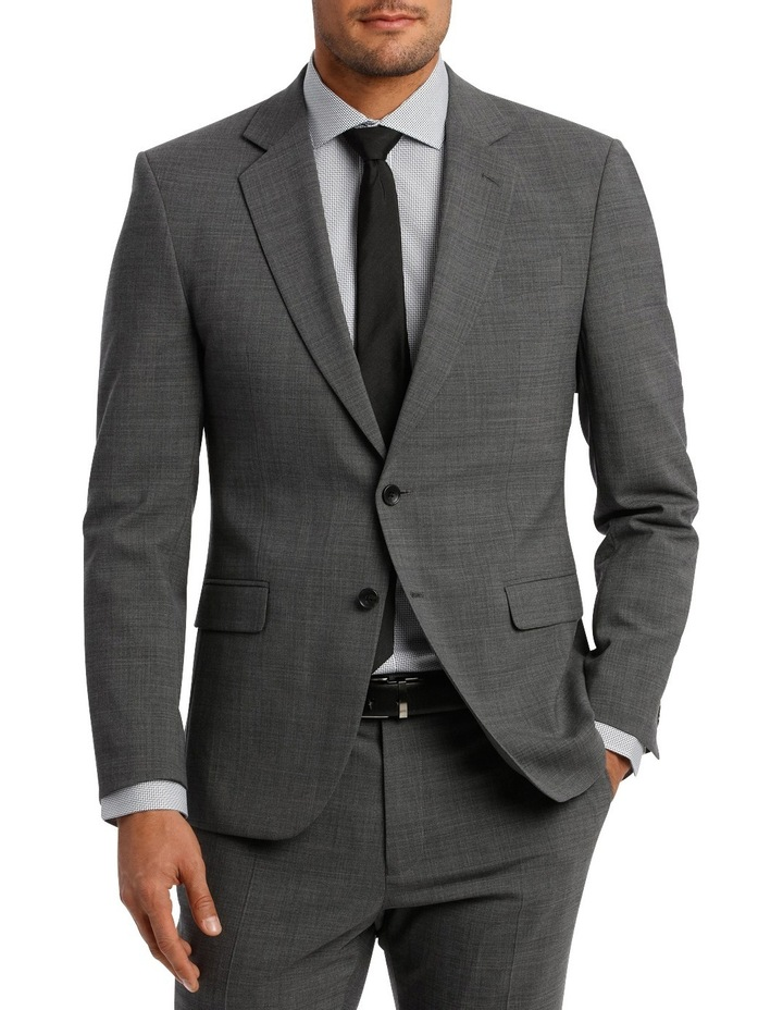 Subtle Check Stretch Suit Jacket image 1