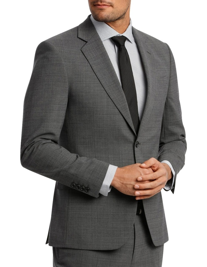 Subtle Check Stretch Suit Jacket image 2