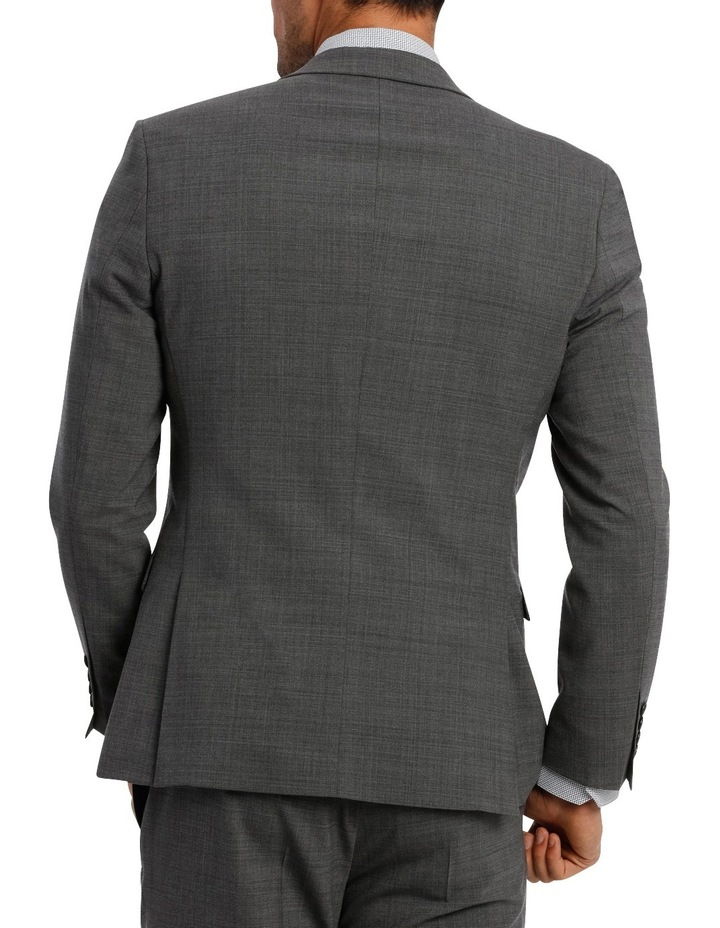 Subtle Check Stretch Suit Jacket image 3