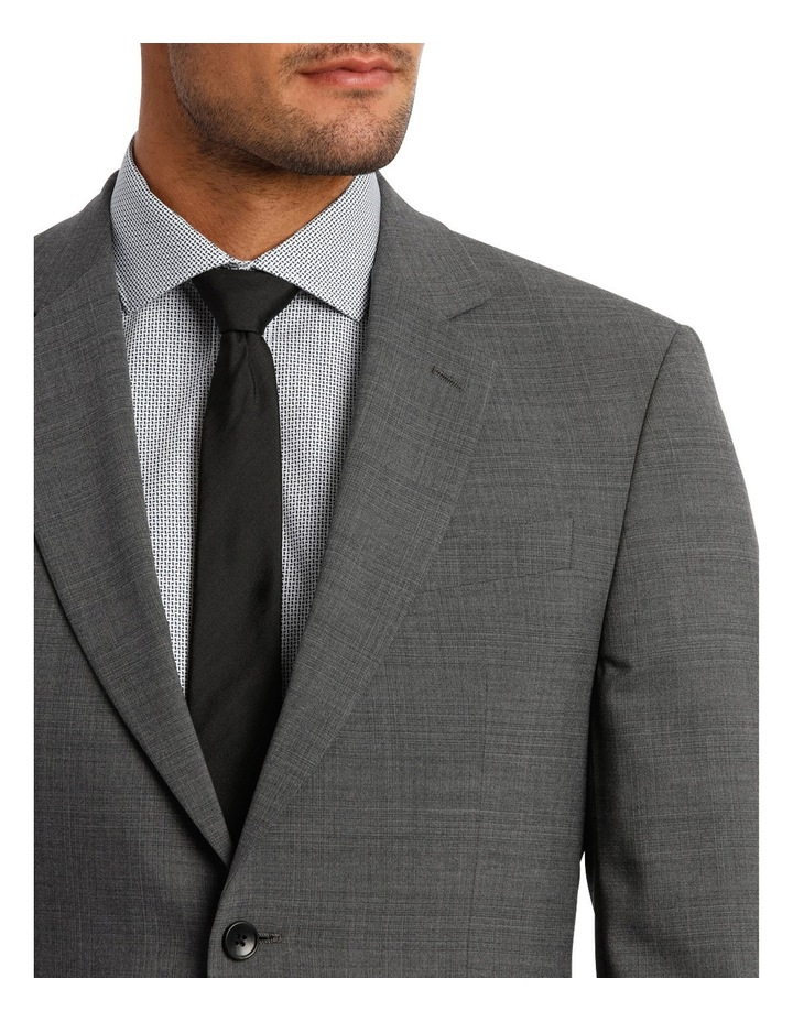 Subtle Check Stretch Suit Jacket image 4