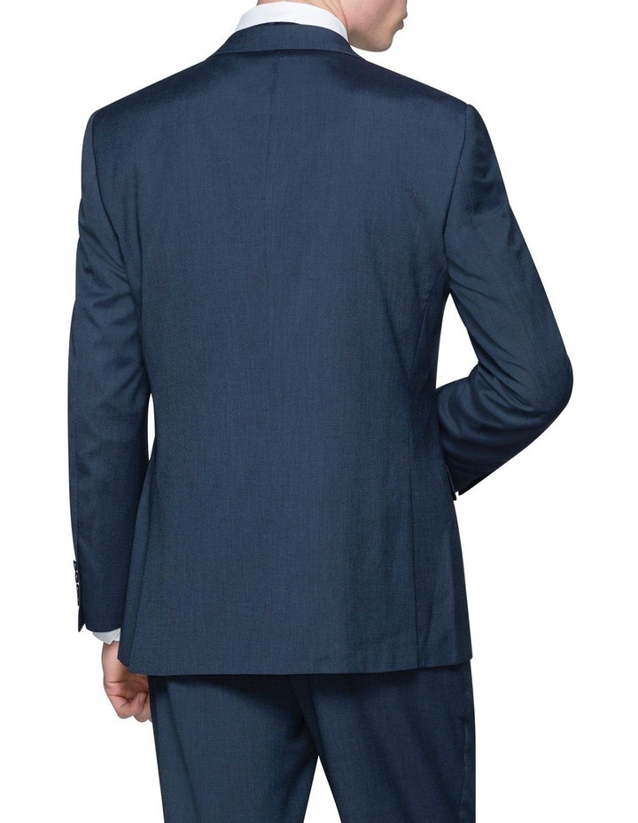 SOLID TEXTURED SUIT JACKET image 2