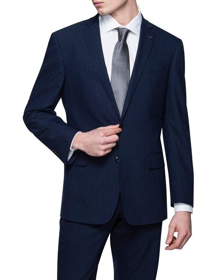 Pinstripe Suit Jacket image 1