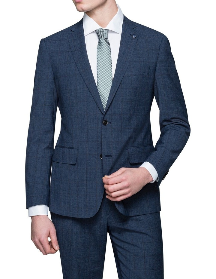 SUBTLE CHECK SUIT JACKET image 1