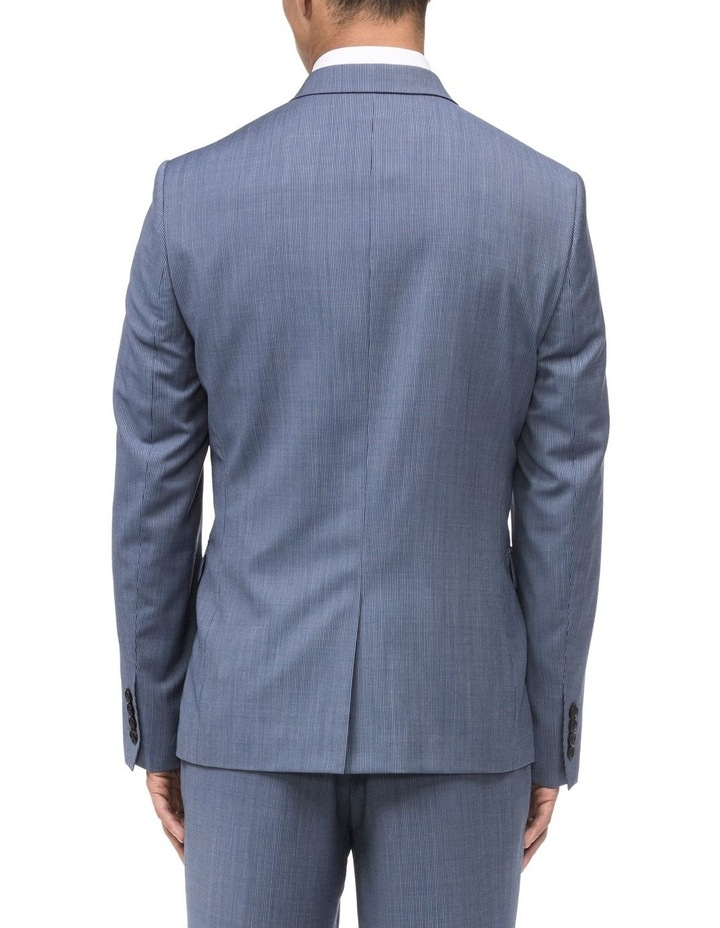 FINE STRIPE SUIT JACKET image 2
