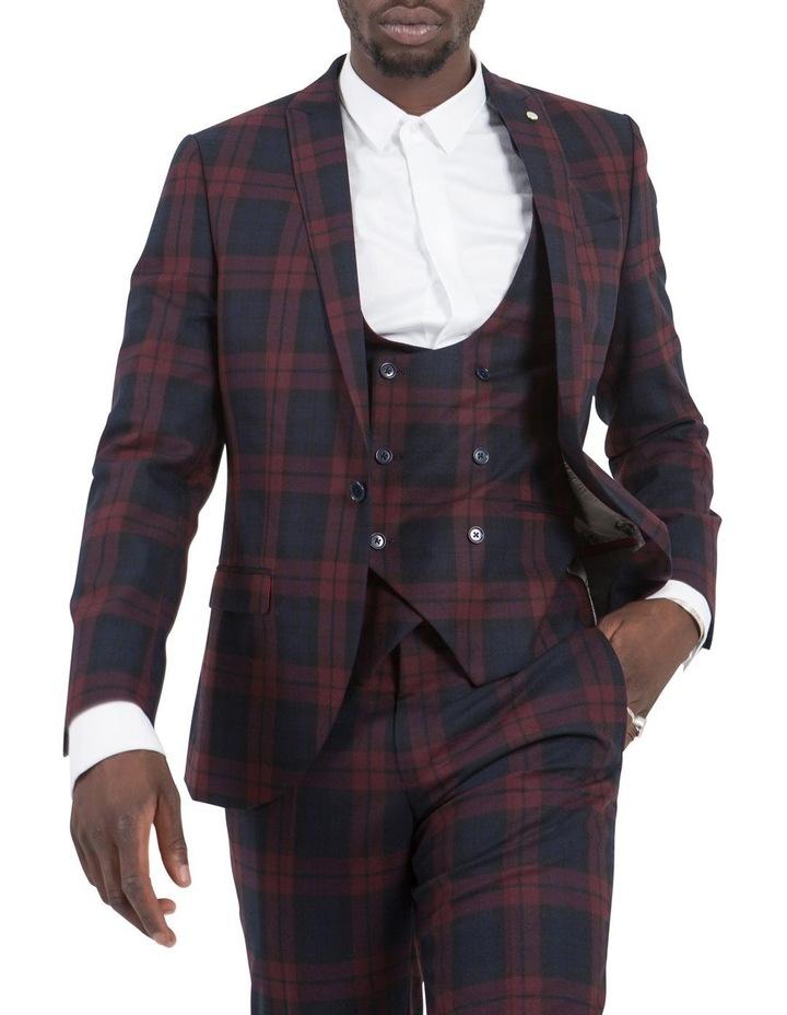 Ginger Suit Jacket Wine image 1