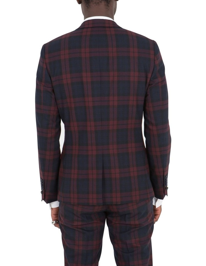 Ginger Suit Jacket Wine image 2