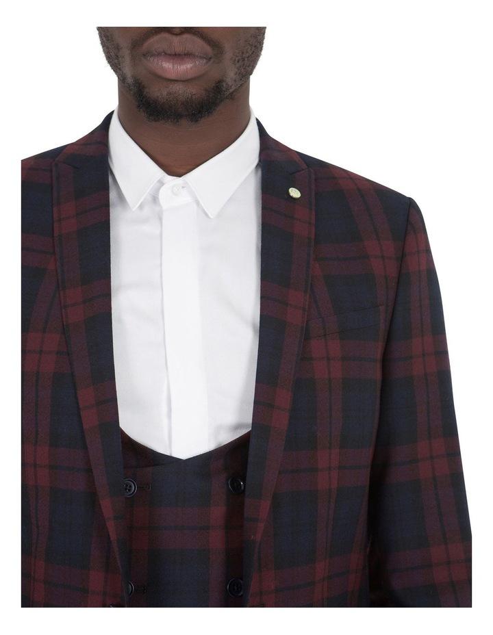 Ginger Suit Jacket Wine image 3