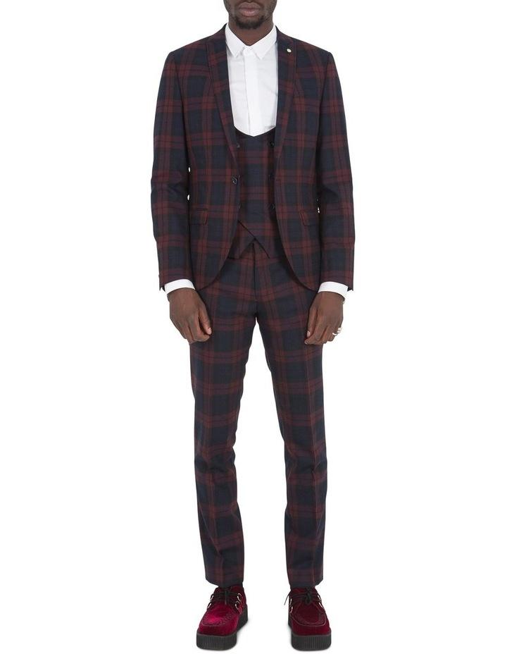 Ginger Suit Jacket Wine image 4