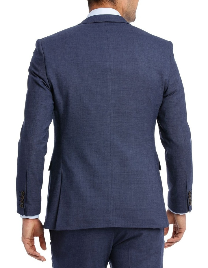 MICRO TWILL SUIT JACKET BLUE image 3