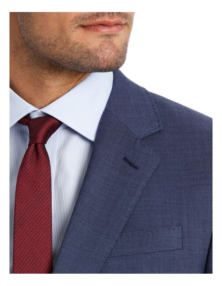 MICRO TWILL SUIT JACKET BLUE image 4