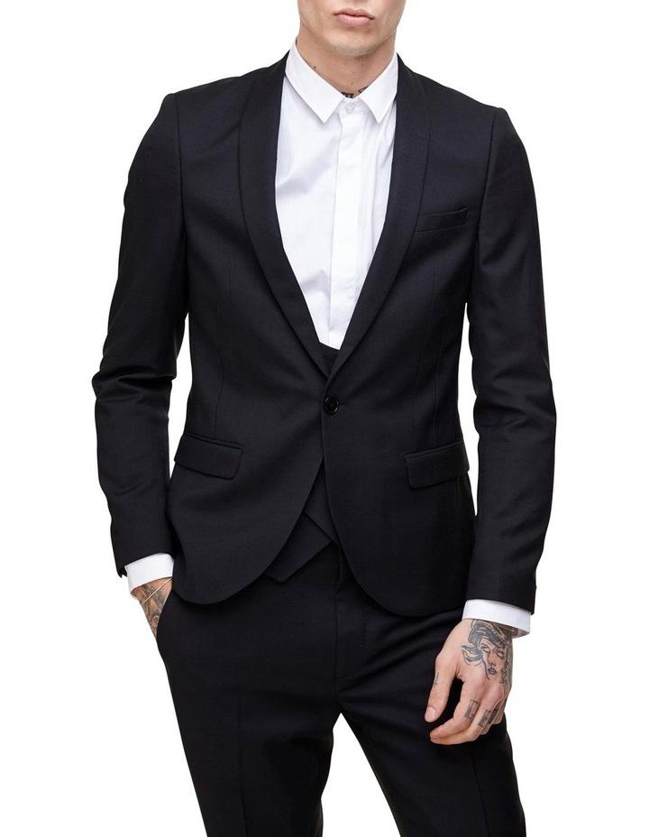 Hemmingway Plain Suit Jacket Black image 1