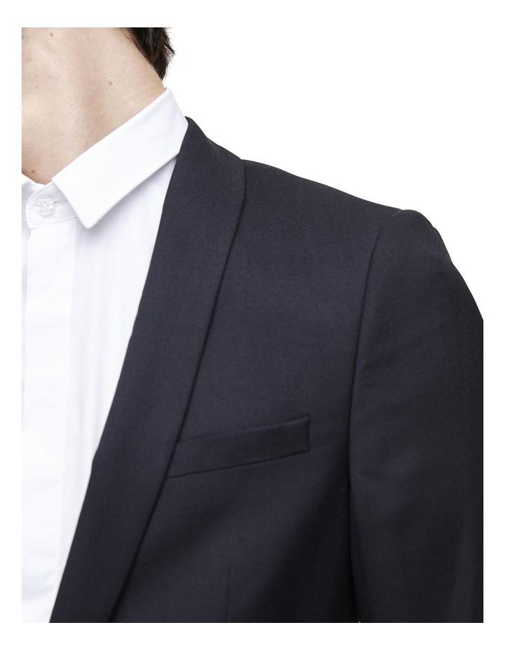 Hemmingway Plain Suit Jacket Black image 2