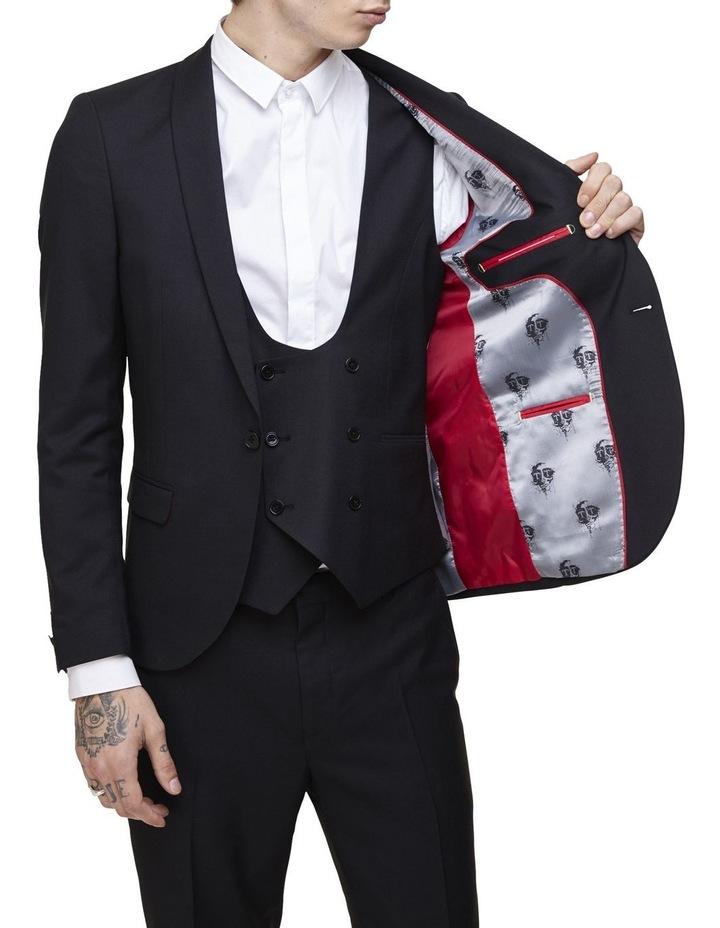 Hemmingway Plain Suit Jacket Black image 3