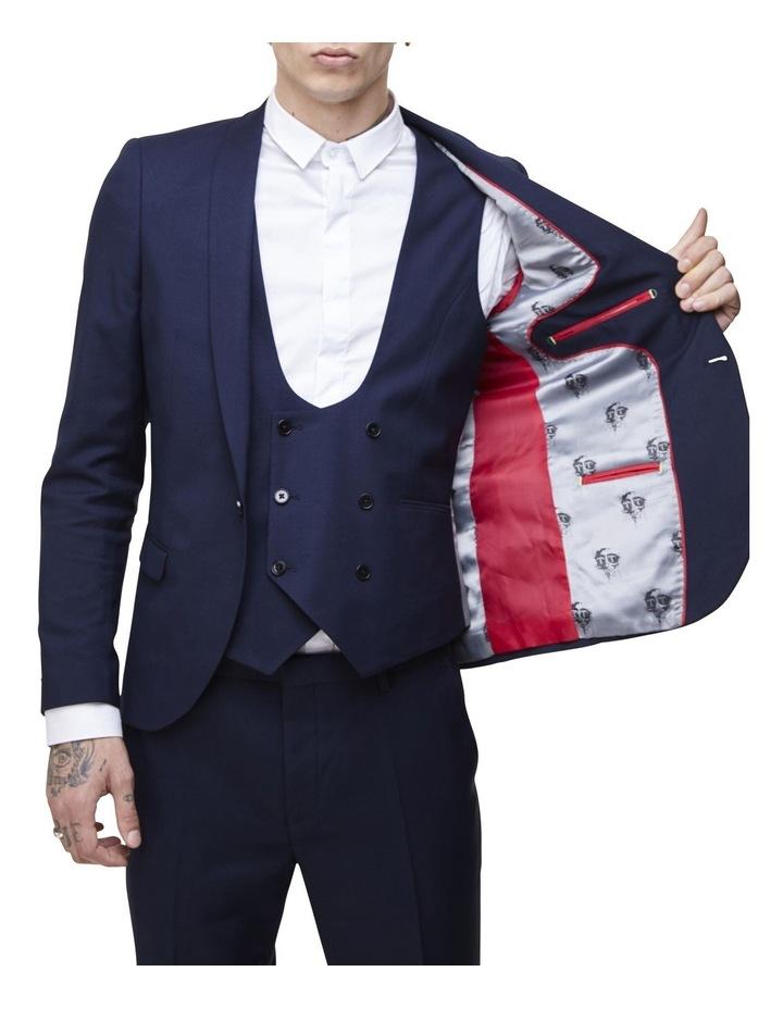 Hemmingway Plain Suit Jacket Navy image 2
