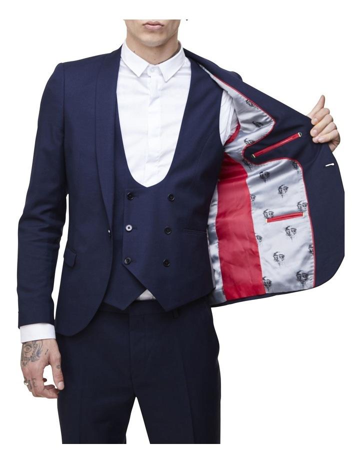 Hemmingway Plain Suit Jacket Navy image 3