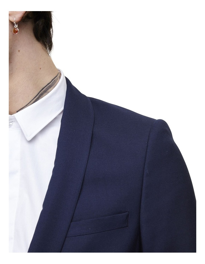 Hemmingway Plain Suit Jacket Navy image 4