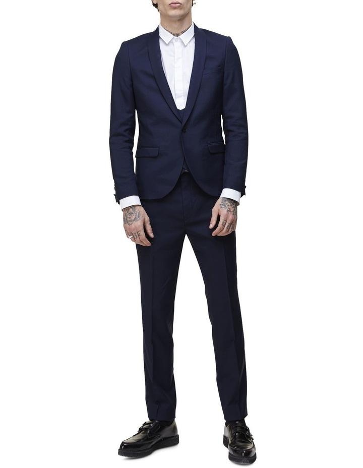 Hemmingway Plain Suit Jacket Navy image 6