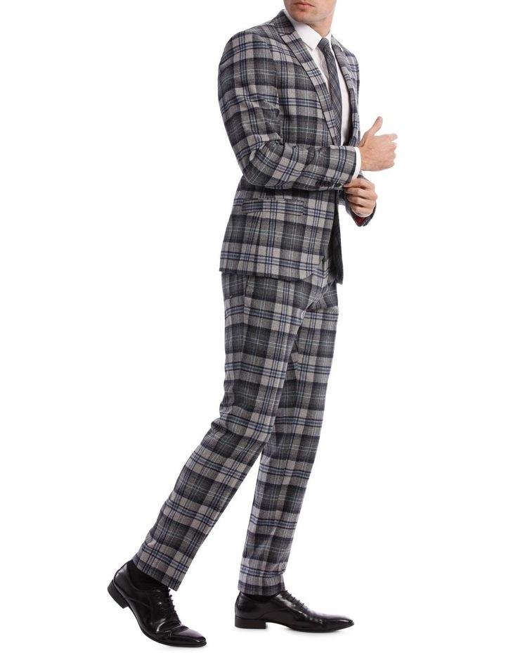Kaufman Check Suit Jacket Grey image 2