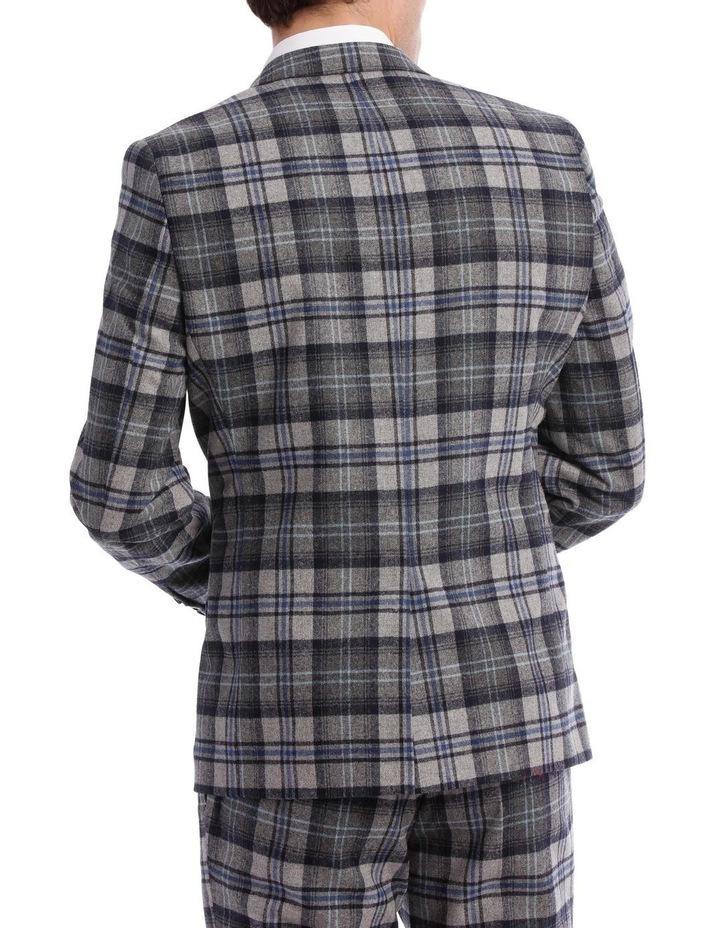 Kaufman Check Suit Jacket Grey image 3