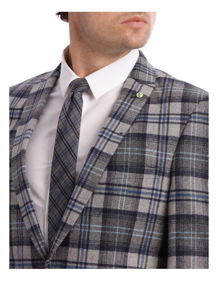 Kaufman Check Suit Jacket Grey image 4