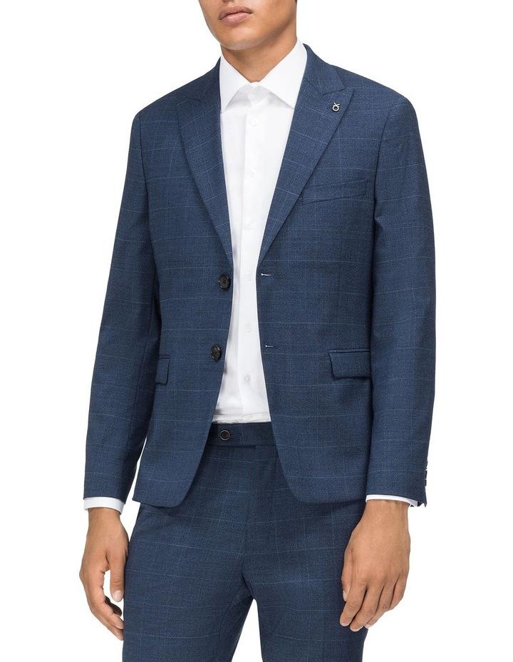 Window Check Suit Jacket image 1