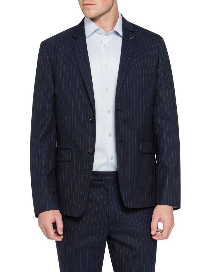 Pin Stripe Suit Jacket image 1