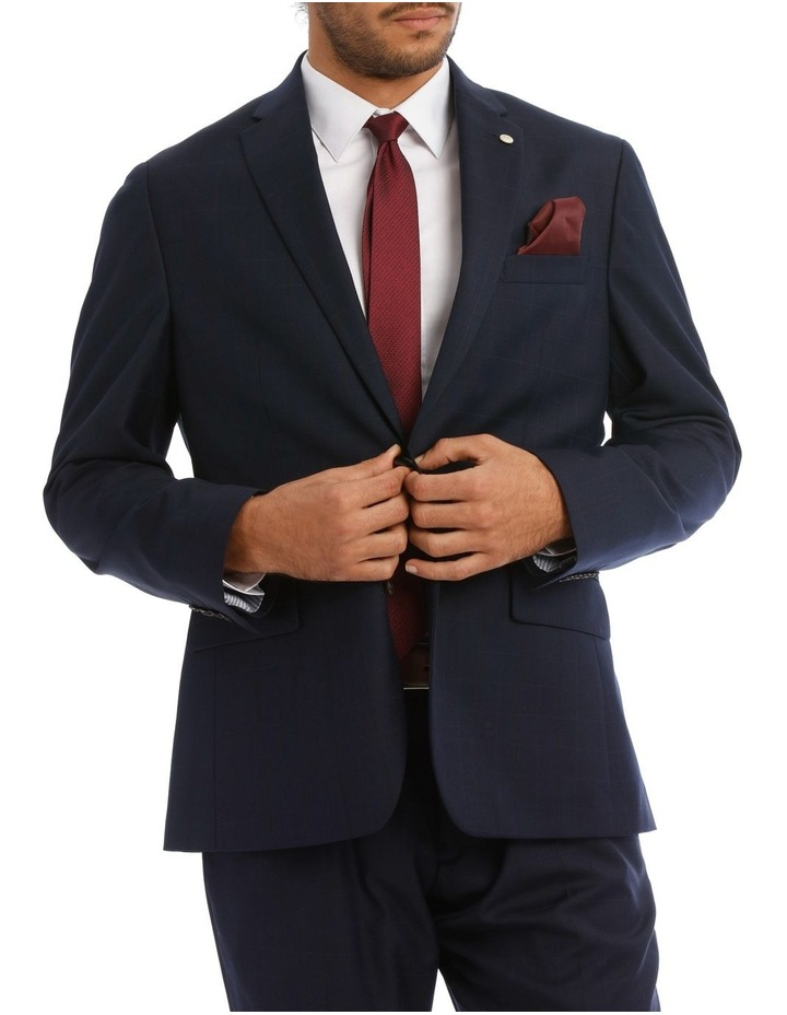 Euro Tailored Fit Suit Jacket image 1