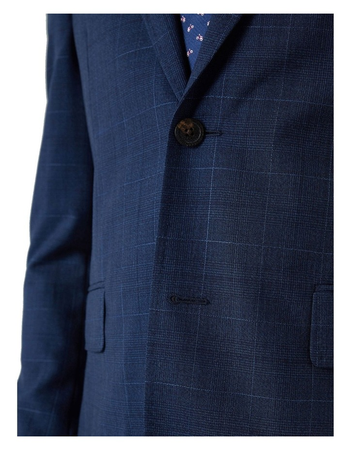 Hearts Tropical Weave Wool Check Suit Jacket image 4
