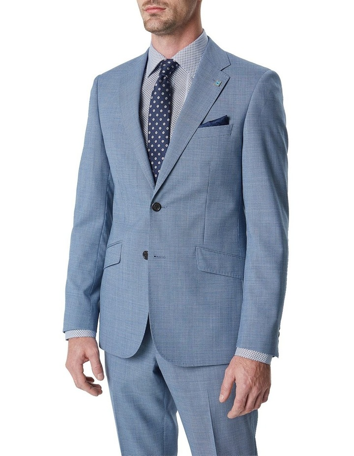 Hearts Micro Texture Wool Suit Jacket image 1