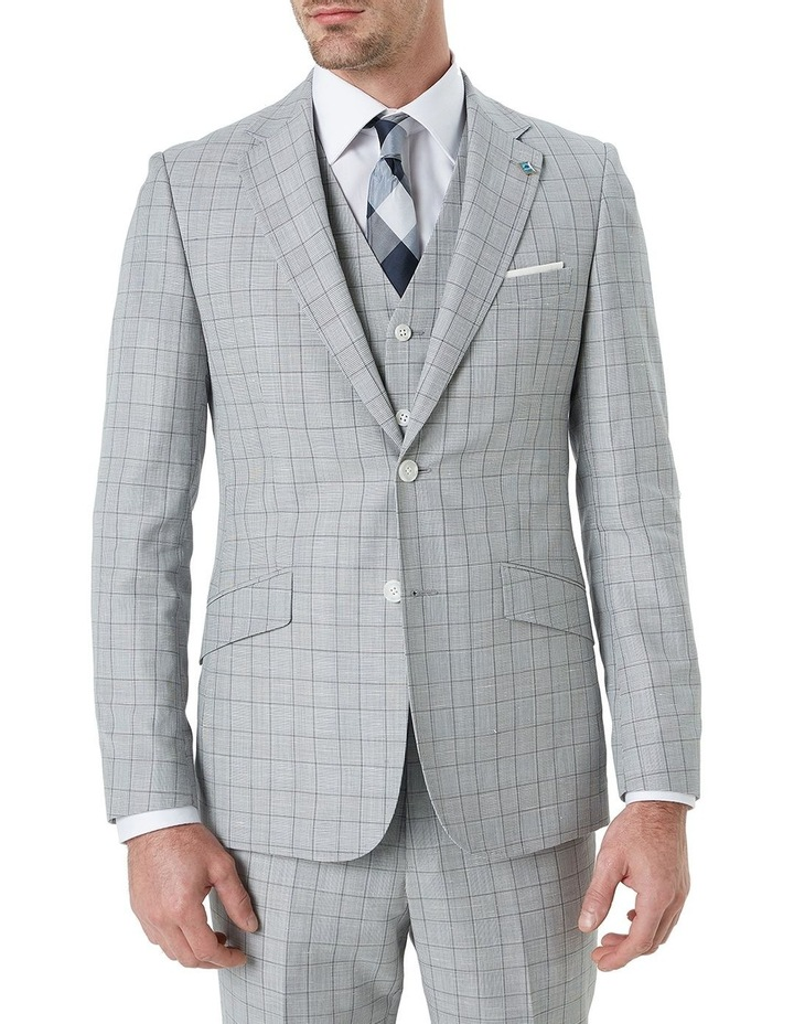 Hearts Wool Linen Check Suit Jacket image 1