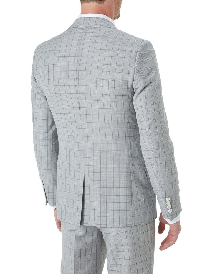 Hearts Wool Linen Check Suit Jacket image 3