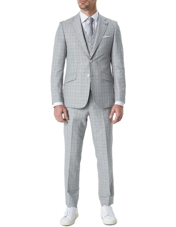 Hearts Wool Linen Check Suit Jacket image 4