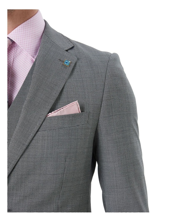 Hearts Micro Texture Wool Suit Jacket image 5