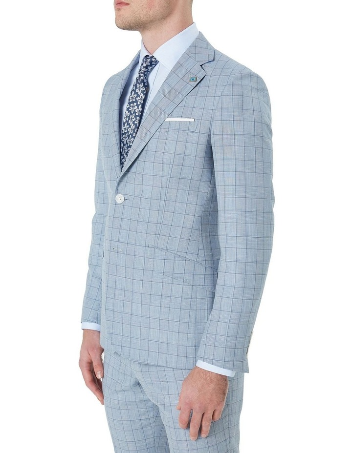 Hearts Wool Linen Check Suit Jacket image 2