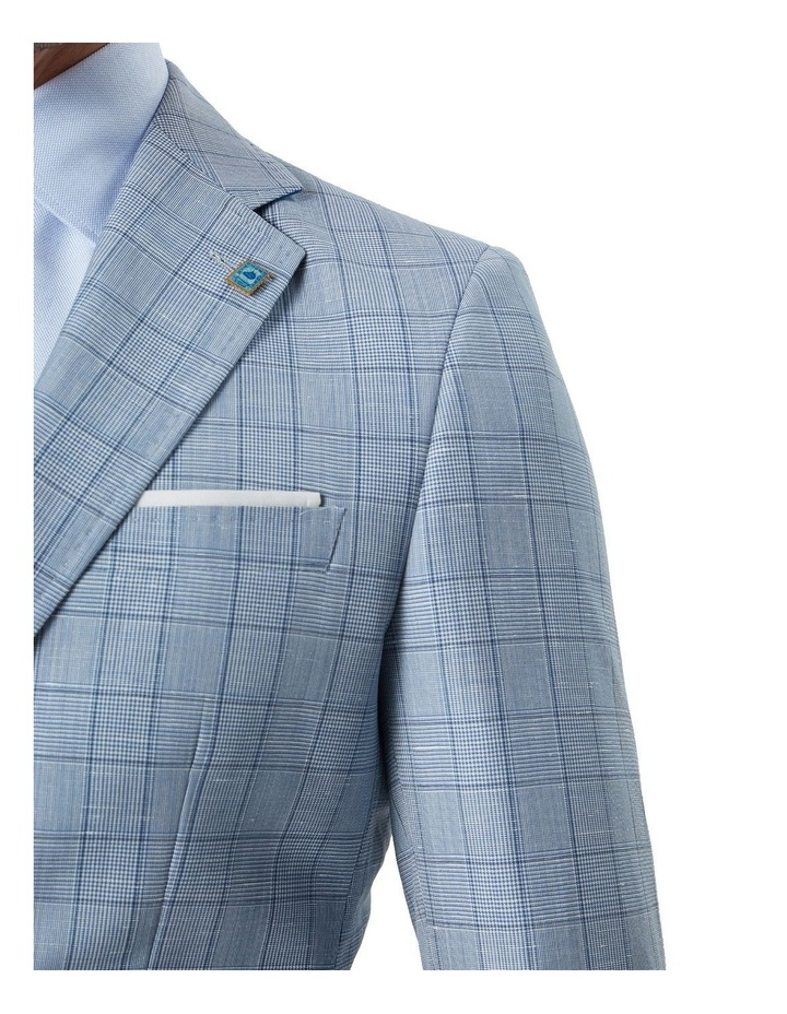 Hearts Wool Linen Check Suit Jacket image 5