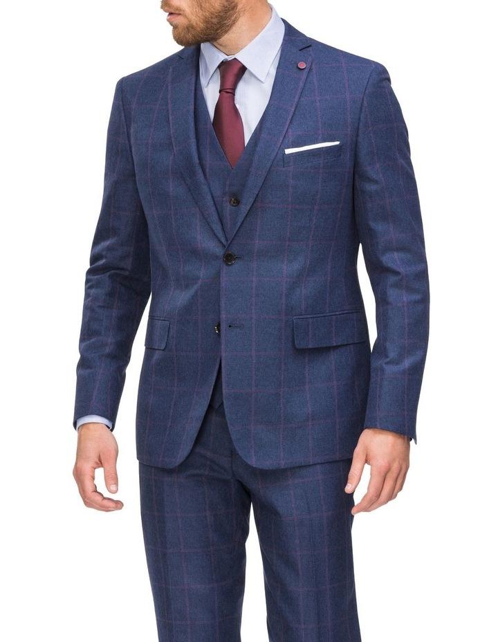 Subtle Check Suit Jacket image 1
