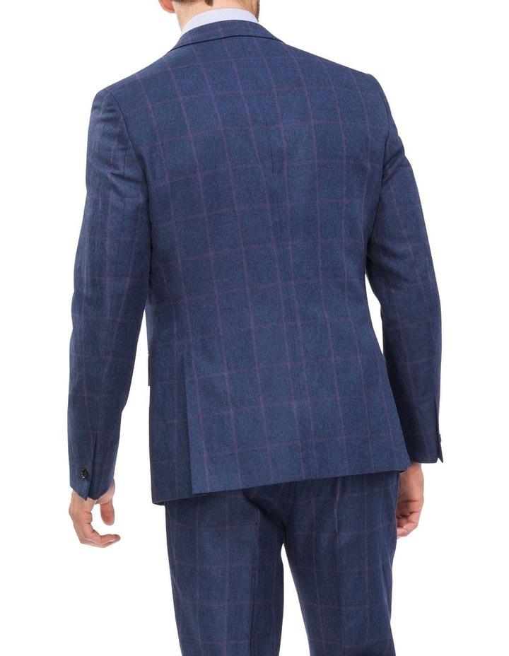 Subtle Check Suit Jacket image 2