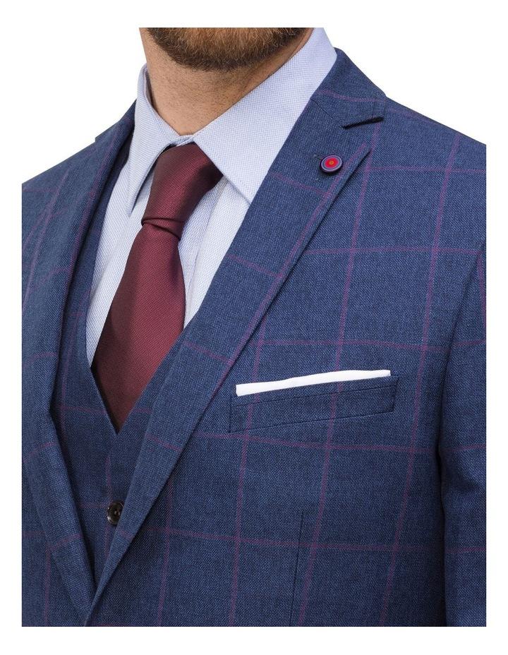 Subtle Check Suit Jacket image 3