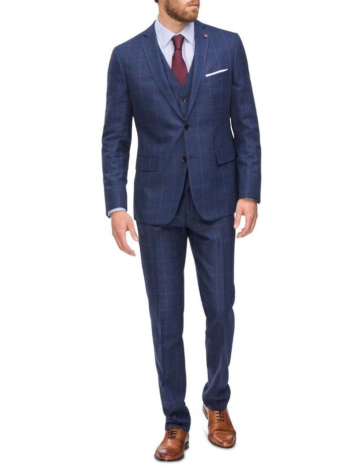 Subtle Check Suit Jacket image 4