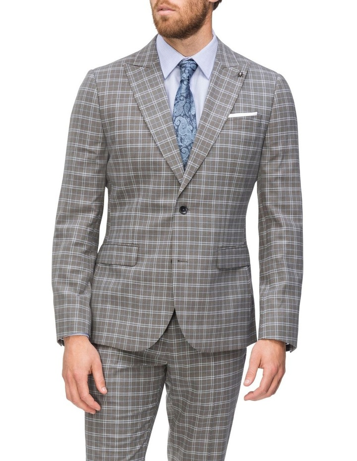Small Check Suit Jacket image 1