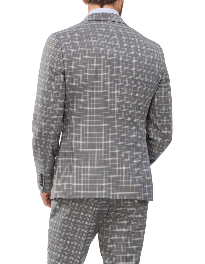 Small Check Suit Jacket image 2