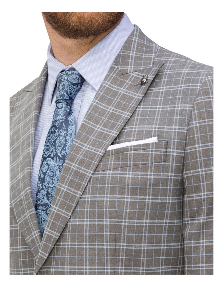 Small Check Suit Jacket image 3