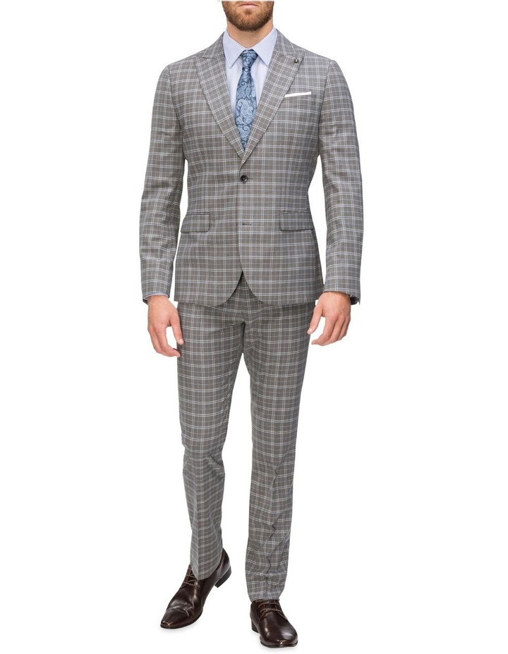 Small Check Suit Jacket image 4