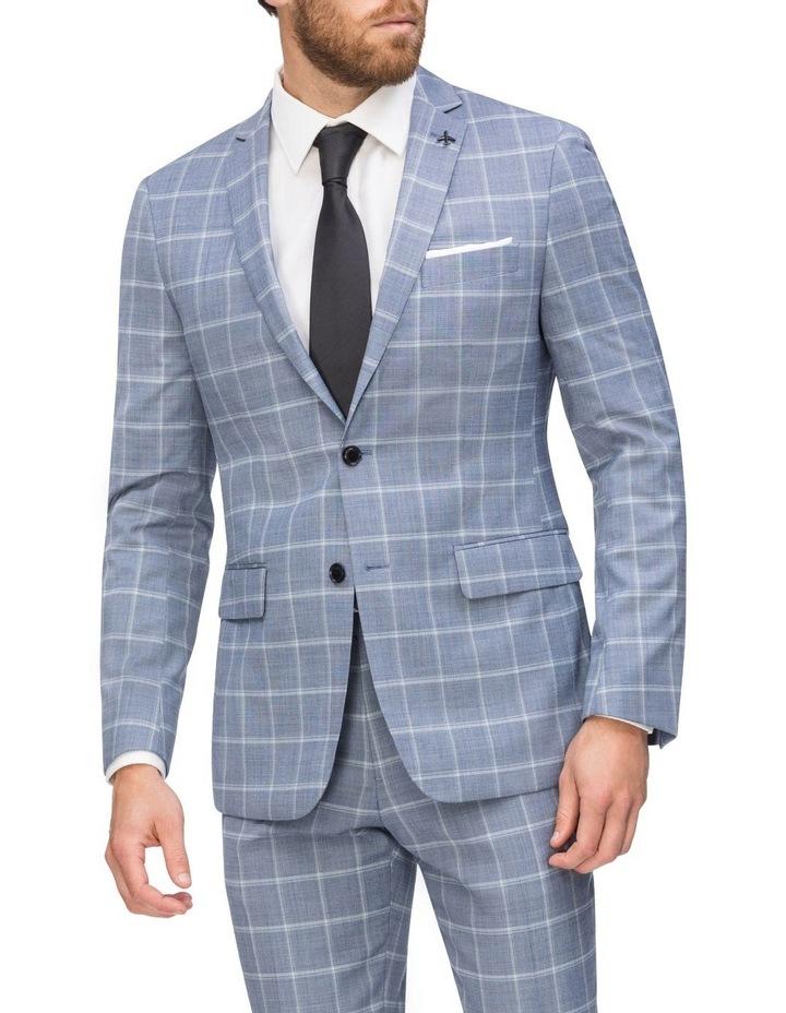 Commuter Fashion Check Suit Jacket image 1