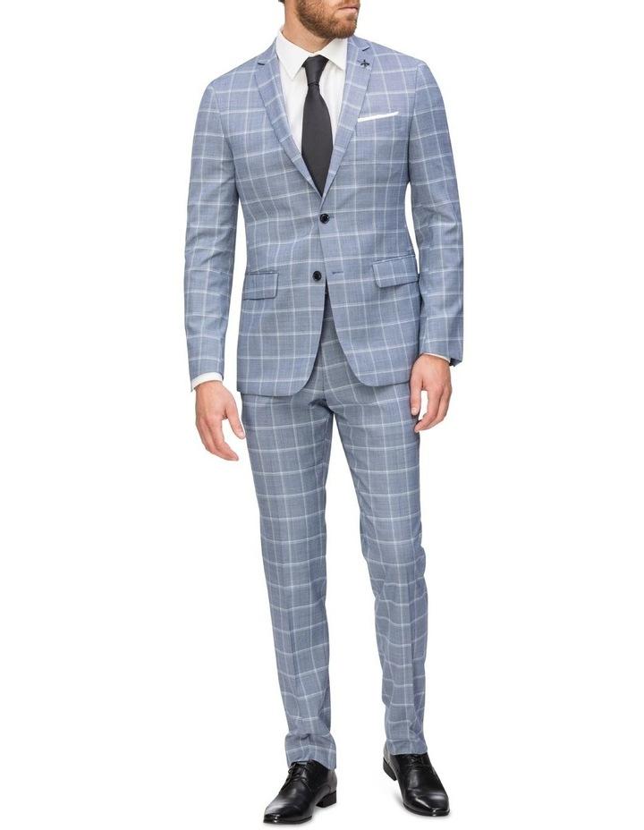 Commuter Fashion Check Suit Jacket image 4