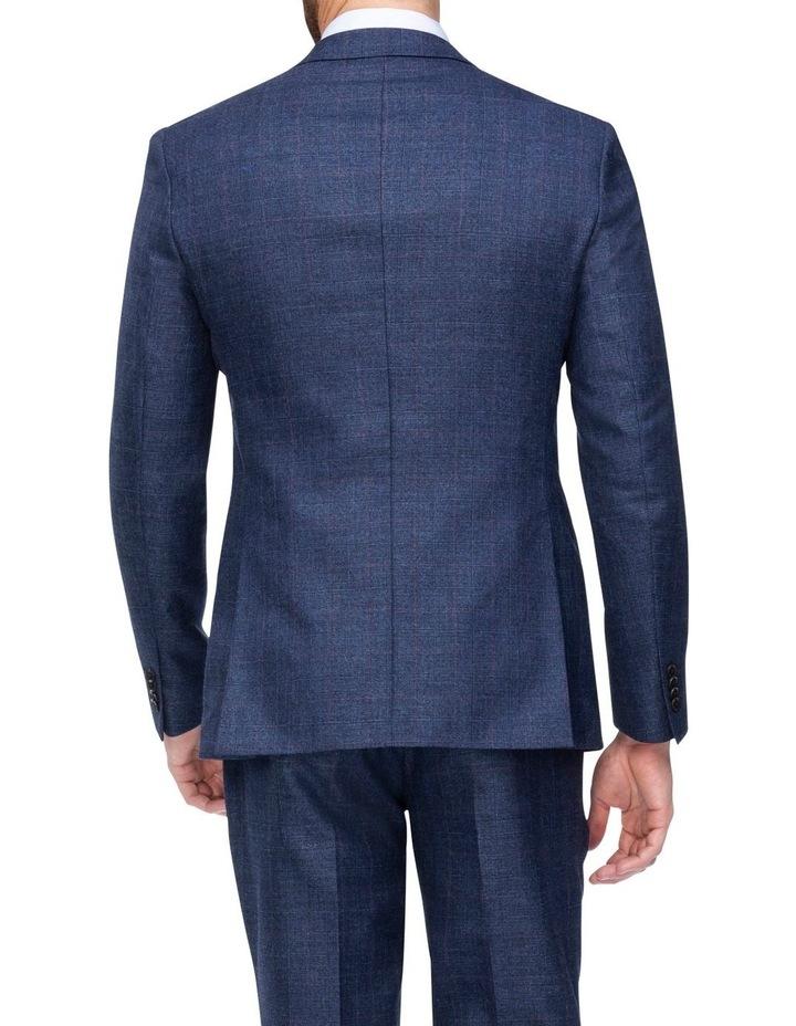 Windowpane Check Suit Jacket image 2