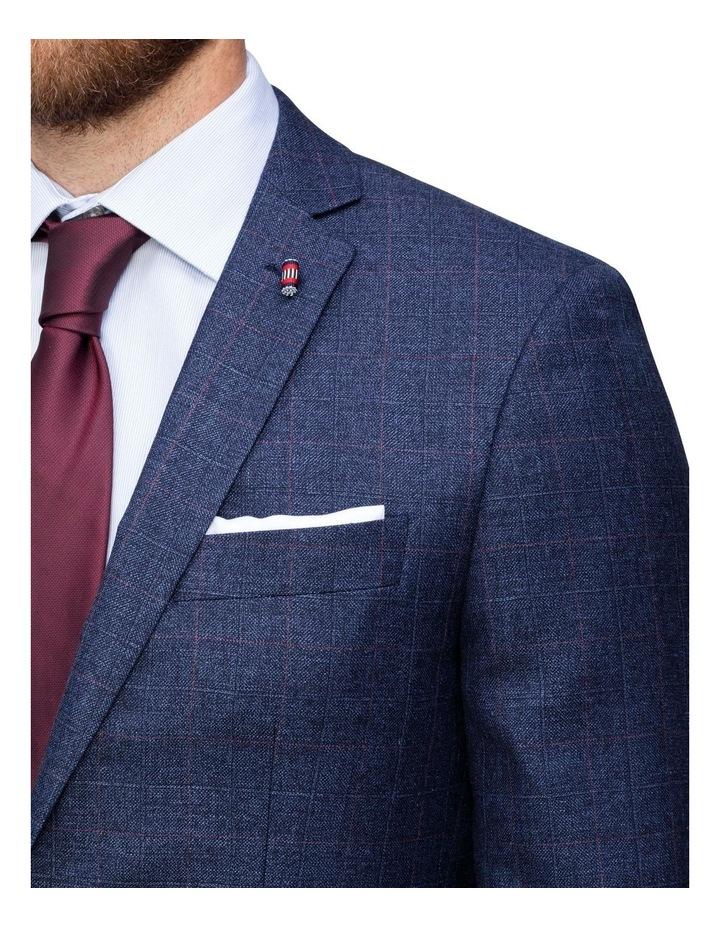 Windowpane Check Suit Jacket image 3