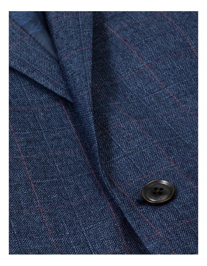 Windowpane Check Suit Jacket image 4